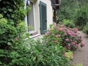 Seitlicher Eingang zum Garten