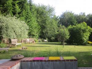 Blick in den ehemaligen Klostergarten