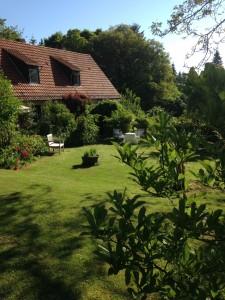... der Garten ist pflegeleichter geworden ...