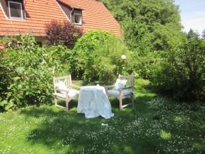 .. jeder Garten braucht immer mal wieder Veränderungen .... wir haben uns vom Teich verabschiedet ...